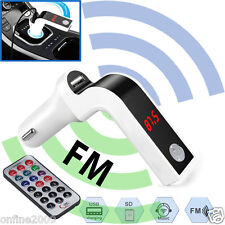 Bluetooth Car FM Transmitter Hands-free MP3 LCD Music Player Car Kit Charger AUX