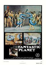 FANTASTIC PLANET 1973 René Laloux, Stefan Wul - Movie Cinema Poster Art