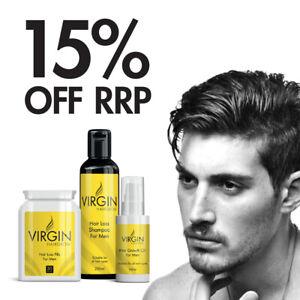 The Mane Man - Virgin Hairloss Shampoo, Pills & Oil For Men Thicker, Fuller Hair