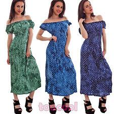 Vestito donna abito longuette ginocchio cuori scollo carmen gitana nuovo 311