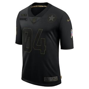 Dak Prescott Dallas Cowboys Nike Men 2020 Salute to Service Limited Black Jersey