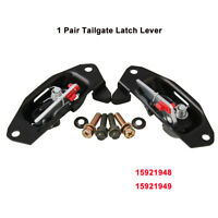 1 Set Tailgate Latch Lever 15921948 w/ Fit For Cadillac Escalade Chevy 1999-2007