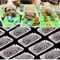 DIY Dog Sugar Silicone Mold Fondant Mold Cake Decorating Tool Chocolate MA