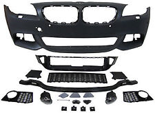 NEW Front Bumper M Pack tech style bodykit abs M exterior FOGS F 10 11 M-Sport