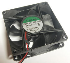 Sunon ventilador 80x80x25mm Ee80251s1-a99 12V 69 . 64m3/h