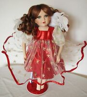 "17"" Seymour Mann Connoisseur Collection Porcelain Doll Fairy Angel 1995 Limited"