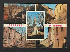 TOURVES (83) RENAULT 4L aux VILLAS & MONUMENT en 1972