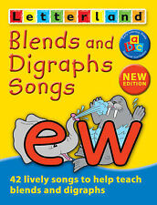 Letterland Blends and Digraphs Songs by Lyn Wendon (Audio cassette, 2003)