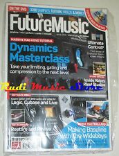 FUTURE MUSIC Magazine SEALED 204/2008 + dvd Dynamics Masterclass Thje Wideboys