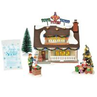 The Toy House Box Set Dept 56 Snow Village 6000633 Christmas house city Lane A