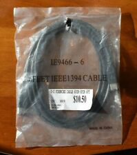 6FT FIREWIRE CABLE 6 PIN to 6 PIN IEEE1394