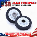 2X 37001042 Dryer Drum Roller Parts For Speed Queen Kenmore Admiral Amana Maytag photo