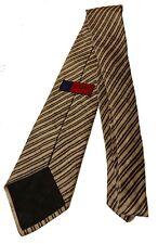 Ungaro Paris Linen Silk Striped Tie RRP £150