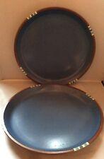 """Dansk MESA SKY BLUE 10"""" Dinner Plate Set Of 2"""