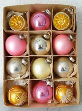 Petite nostalgique Boules de Noël boule verre balle réflexe en vert