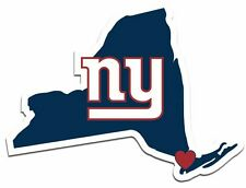 New York Giants Home State Vinyl Decals Football NEW!