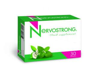 Nervostrong 30 Kapseln Magnesium B2, B3, B6, B12 Vitamine