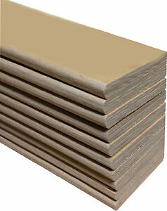 Replacement Bed Slats for a Kingsize Bed - Beech Sprung  - 15 Pack