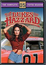 Dukes of Hazzard The Complete Season 5 Fifth 5th Movies DISC DVD - NEW SEALED