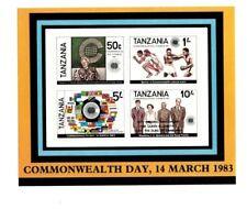 Tanzania - 1988 Commonwealth Day - Royal Wedding Overprint Souvenir Sheet - MNH