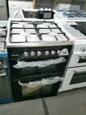 Kenwood 60cm Dual Fuel Cooker Freestanding CK232DFA Black # 2334