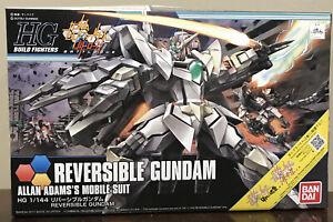 BANDAI HG BF Battlogue Reversible Gundam Allan Adam's Mobile Suit 1/144 Kit