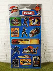 Power Rangers Operation Overdrive Holofoil Stickers - NEW