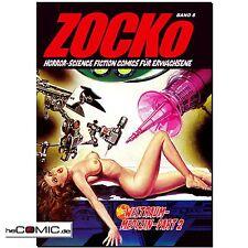 ZOCKo 8 Weltraum Medizin Teil 2 HORROR EROTIK COMIC Science Fiction Zacko NEU