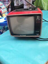 Mini Star 416C Tragbares Fernseh Gerät Vintage Ük Scheint Zu Funktionieren Bild
