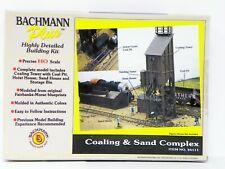 "Bachmann Plus Ho U/A ""Coaling & Sand Complex"" Plastic Model Kit #35111"