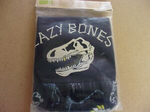 NIP Crazy 8 by Gymboree Lazy Bones Dinosaur pajamas pjs  12 -18 months 12M 18M