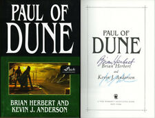 Brian Herbert & Kevin J. Anderson DUAL SIGNED AUTOGRAPHED Paul of Dune HC 1st Ed