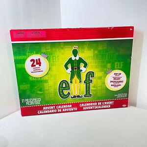 Elf Advent Calendar 24 Days of Fun Collectible Surprises 27 Piece NEW