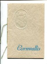 Vintage Souvenir Booklet 1930 DOMINION ATLANTIC RAILWAY Edward Cornwallis Bio