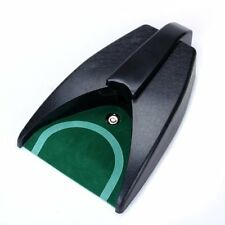Battery-Operated Auto Return Putting Mat Golf Practice Cup SH