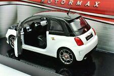 MODELLINO AUTO FIAT 500 ABARTH SCALA 1/24 DIECAST MODELLISMO STATICO NUOVI NEW