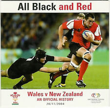All Black and Red - Wales v New Zealand an official history Rugby DVD