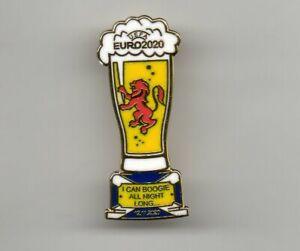 SCOTLAND EUROS BADGE...I CAN BOOGIE...PINT