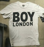 BOY LONDON T-SHIRT  BL1011 BIANCO  MADE IN ITALY