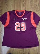 Nike Virginia Tech Hokies Womens Lacrosse #29 Game Used Jersey *L*