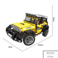 Xingbao Building Blocks Model Kits Super ATV Toys Gifts SUV Car Mini Diamond DIY