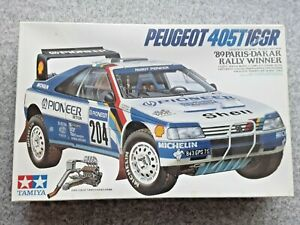 TAMIYA  PEUGEOT  405 T16 GR  1989  PARIS-DAKAR RALLY  1/24 MODEL KIT