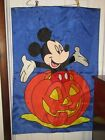 MICKEY MOUSE HALLOWEEN BANNER FLAG NEW