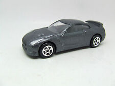 NISSAN GT R GT-R  IN METALLIC GREY 1:60 GREAT DETAIL MINT