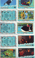 FREE WILLY 2, 42  TRADING CARDS  PICTURED AND LISTED VGC