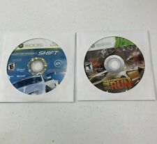 Xbox 360 Need For Speed Bundle Shift & The Run Discs Only Tested Work