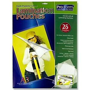 A3 Laminating Pouch (Pack of 25) 150 micron