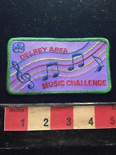 Vtg DELRAY AREA MUSIC CHALLENGE Patch 735