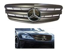 W221 S-Class Flat Matte Black grille W-LED star AMG S550 S600 S63 Illuminated