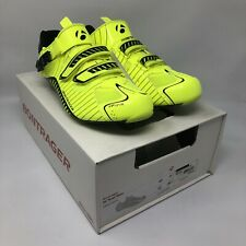 NEW Bontrager RL Road EU 45 US 12 High Vis Yellow Carbon Cycling Shoes MSRP $190